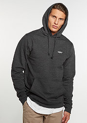 Hooded-Sweatshirt Chest Logo charcoal/white embroidery