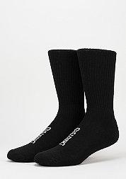 Sportsocke High Cut 2er black