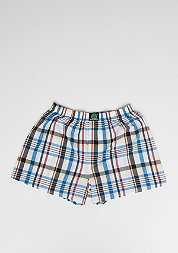 Boxershort Plaid white/blue/red