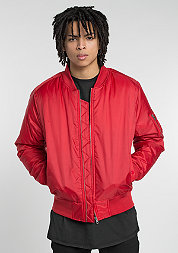 Übergangsjacke Basic Bomber fire red