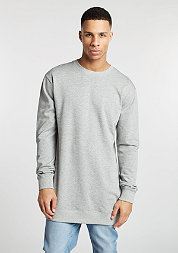 Sweatshirt Long Light Fleece grey