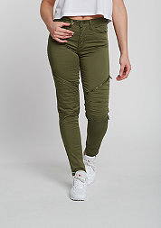 Jeans Stretch Biker olive