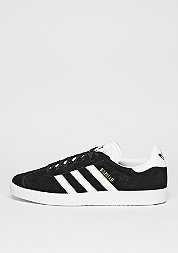 Schuh Gazelle core black/white/gold metallic