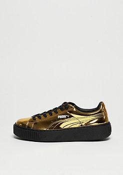 Schuh Basket Platform Metallic gold/gold/black