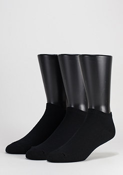 No Show Socks 3er Pack black