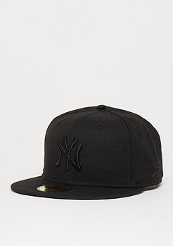 Fitted-Cap 59Fifty Black On Black MLB New York Yankees black