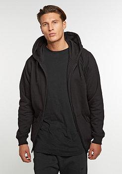 Hooded-Zipper black