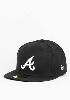 New Era Fitted-Cap 59Fifty Basic MLB Atlanta Braves black
