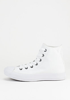 Converse Schuh Chuck Taylor All Star HI white/monochrome