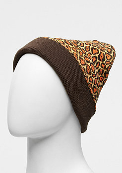 Beanie Camo Flap jaguar/chocolate