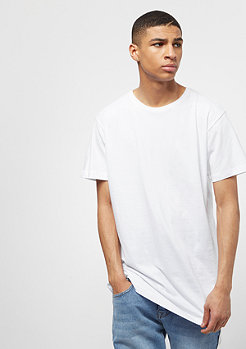 T-Shirt Shaped Long white