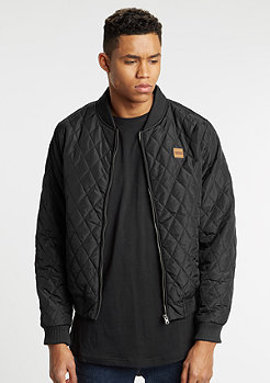 Jacke Diamond Quilt Nylon black