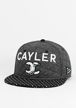 C&S Cap No.1 Throwback greyblack/white