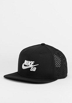Snapback-Cap SB Performance Trucker black/black/white