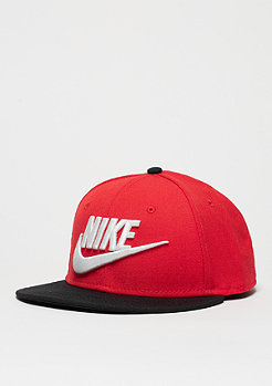 Snapback-Cap Futura university red/black/white