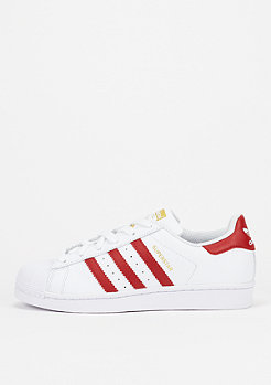 Superstar white/red