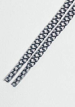 Schnürsenkel Rope Laces 120cm white/darkgrey