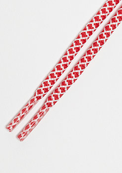 Schnürsenkel Rope Laces 120cm red/white