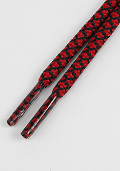Schnürsenkel Rope Laces 120cm red/black