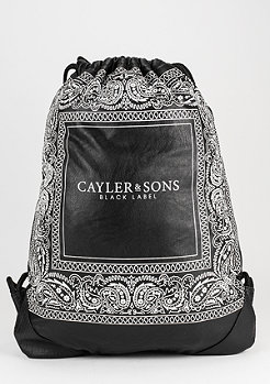 C&S Gymsack BL Paiz black/white