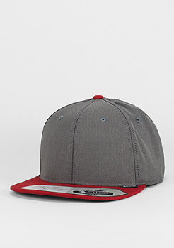 Herringbone grey/red