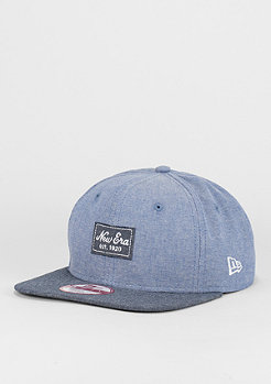9Fifty Two Tone Chambray Patch blue/navy
