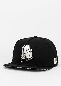 Snapback-Cap Pray For black/paisley/white