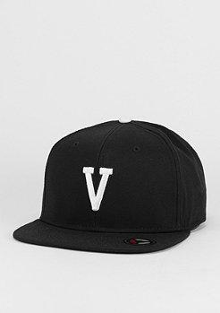 Letter V black