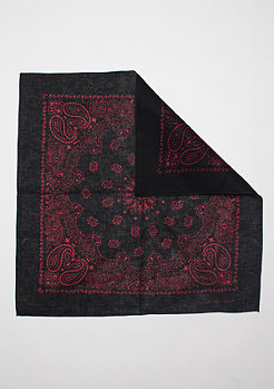 Bandana black/red