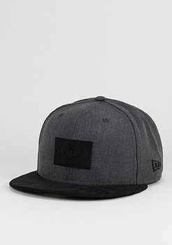 Suede Patch 59Fifty graphite/black