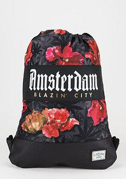 C&S GL Gymsack Amsterdam black/tulip