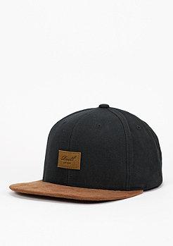 Snapback-Cap Suede black