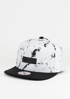Snapback-Cap Marble Own Brand white
