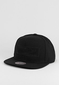Snapback-Cap Box Logo black