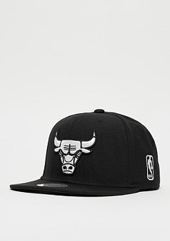 Snapback-Cap Black & White NBA Chicago Bulls