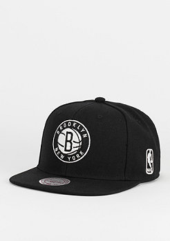 Snapback-Cap Black & White NBA Brooklyn Nets