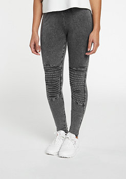 Leggings Denim Jersey dark grey