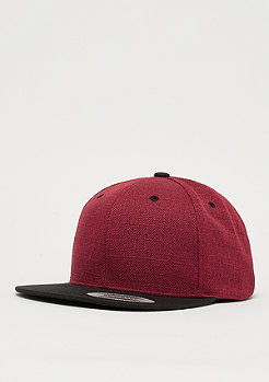 Melange 2-tone red/black