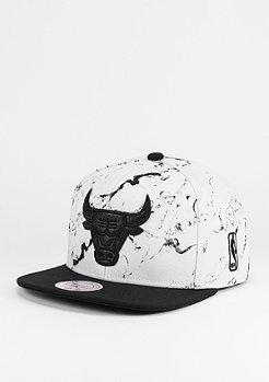 Marble Logo NBA Chicago Bulls white