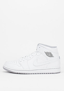Air Jordan 1 Mid white/white/wolf grey