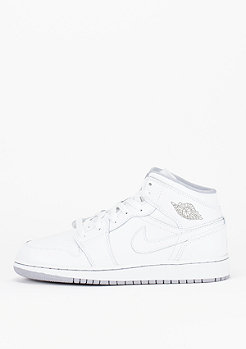 Basketballschuh Air Jordan 1 Mid white/white/wolf grey