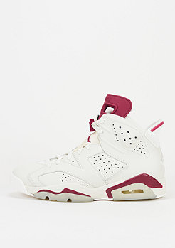 Air Jordan 6 Retro off white/new maroon