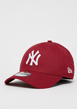 Baseball-Cap 39Thirty League Basic MLB New York Yankees scarlet
