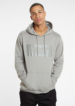 Hooded-Sweatshirt Mono Box Logo dark grey