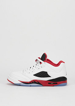 Air Jordan 5 Retro Low white/fire red/black