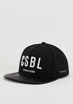 Snapback-Cap BL CSBL black/black