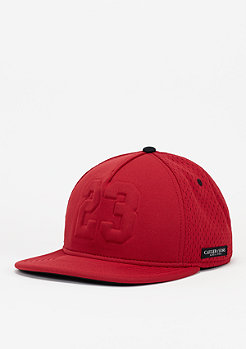 Snapback-Cap Legend red/red
