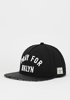 Snapback-Cap WL Pray for BKNY black/white