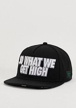 Snapback-Cap GL We Get High black/grey/silver
