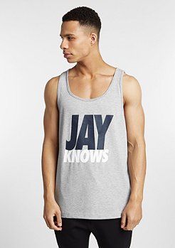 Tanktop I Got It grey heather/white/navy